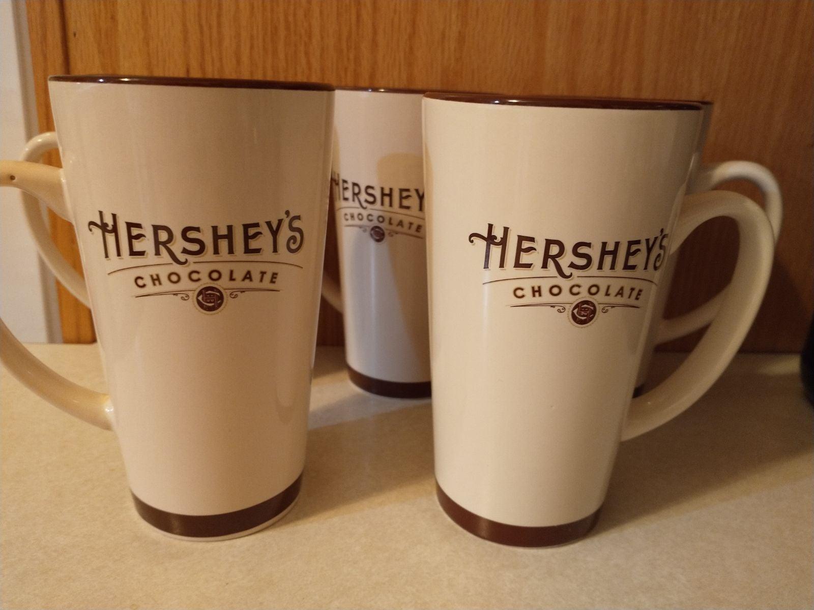 Hershey Chocolate Tall Hot Cocoa Mugs