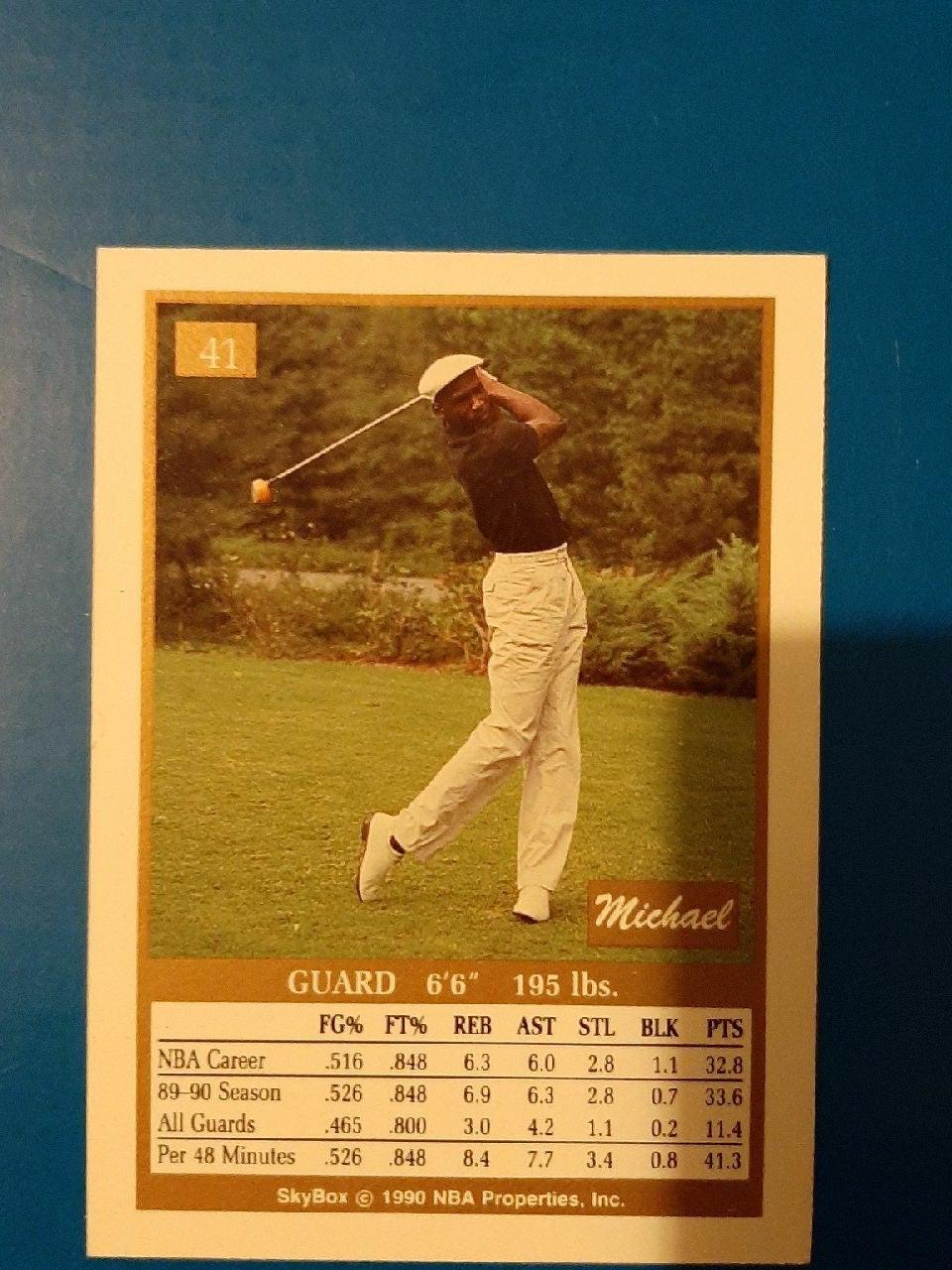 Rare Michael Jordan Card