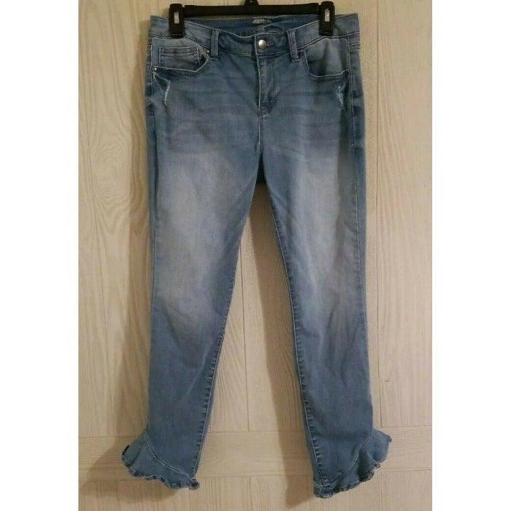 Project Runway Skinny Blue Denim Jeans