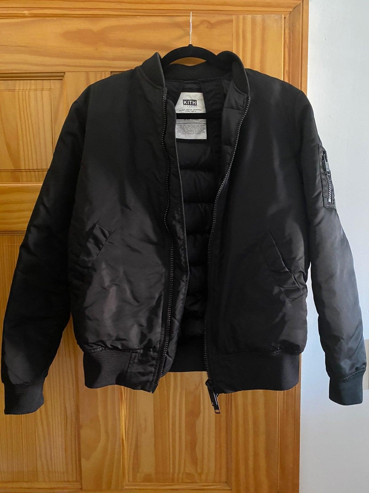 KITH Bomber Jacket Black XS