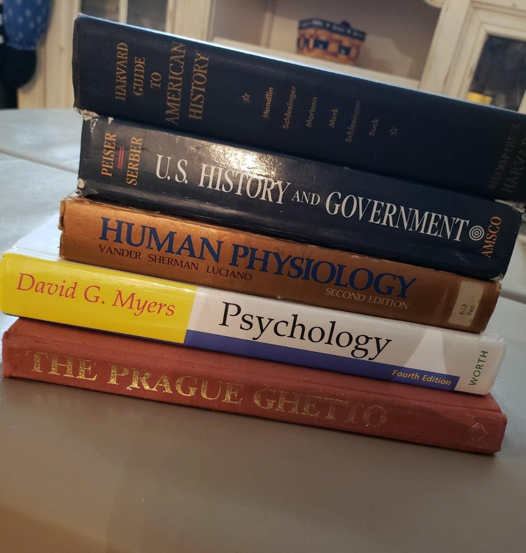 5 History & psychology Books physiology