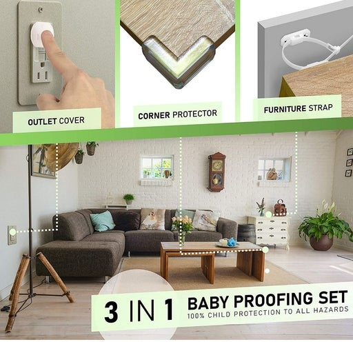 2 Baby Proofing sets