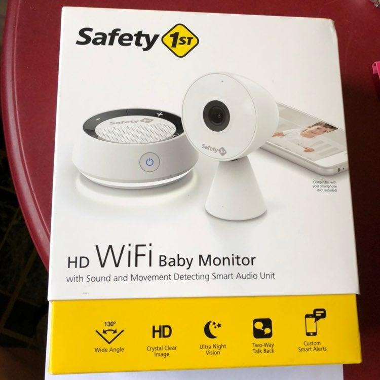 Safety 1st HD Wi-Fi Baby Monitor