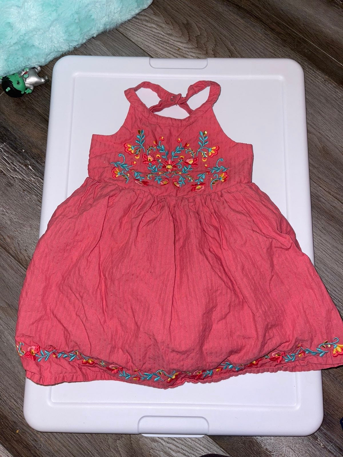 Summer style baby girl strappy dress