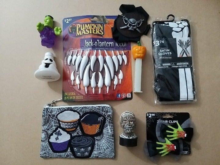 Lot Of Various Halloween Stuff