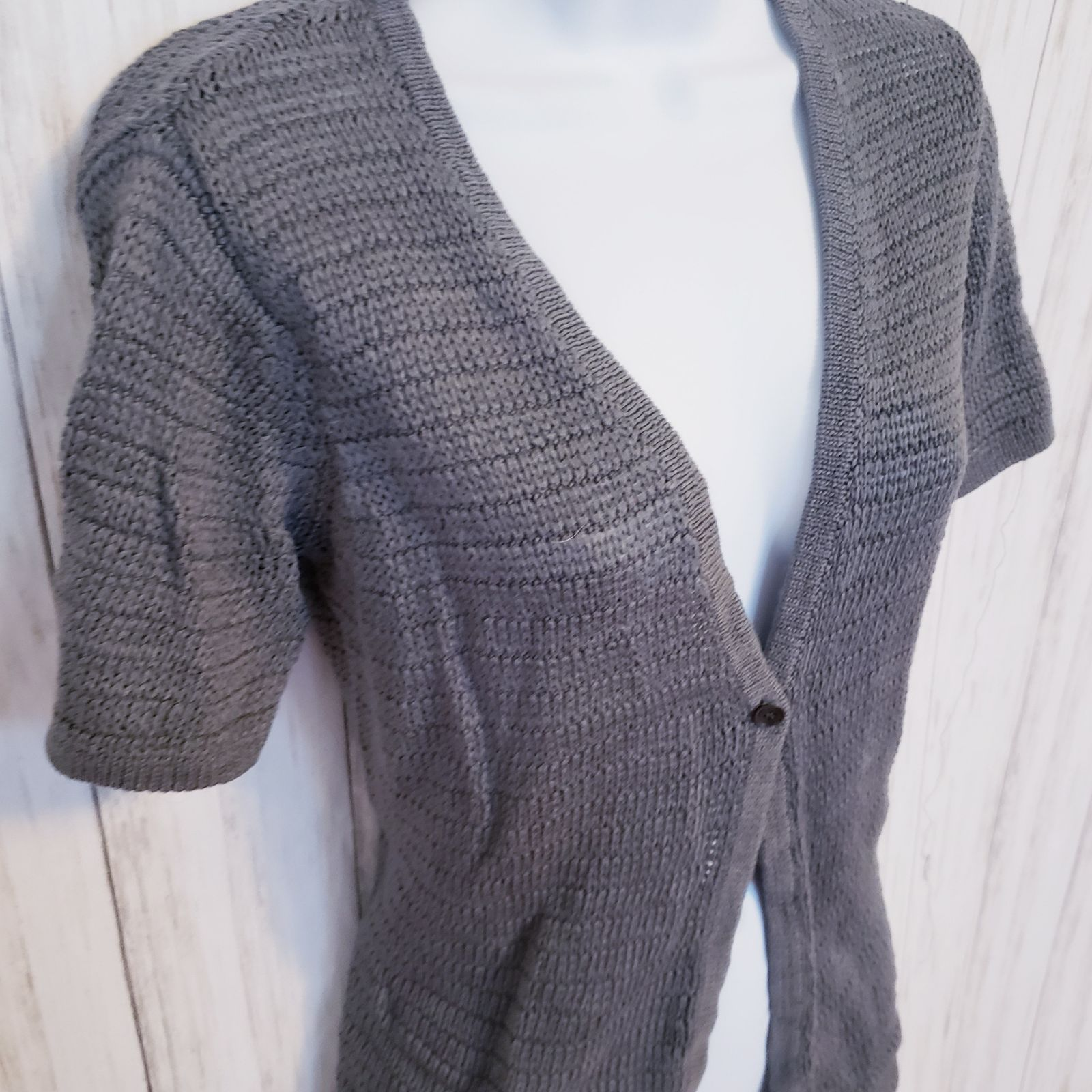 Summer Cardigan, Talbots Gray Shrug
