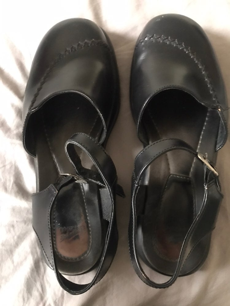 dansko 42 black mary jane clogs