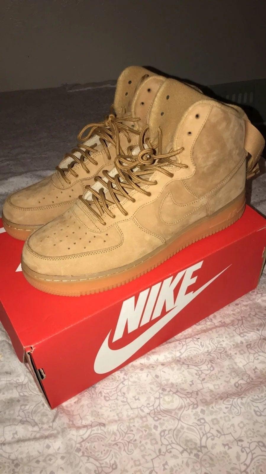 Nike AF1 High Flax