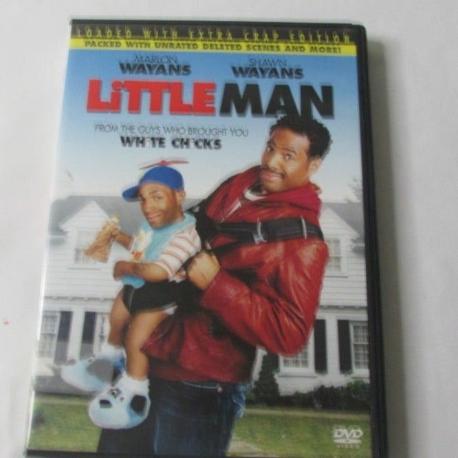 Little Man DVD Loaded With Extra Crap Ed