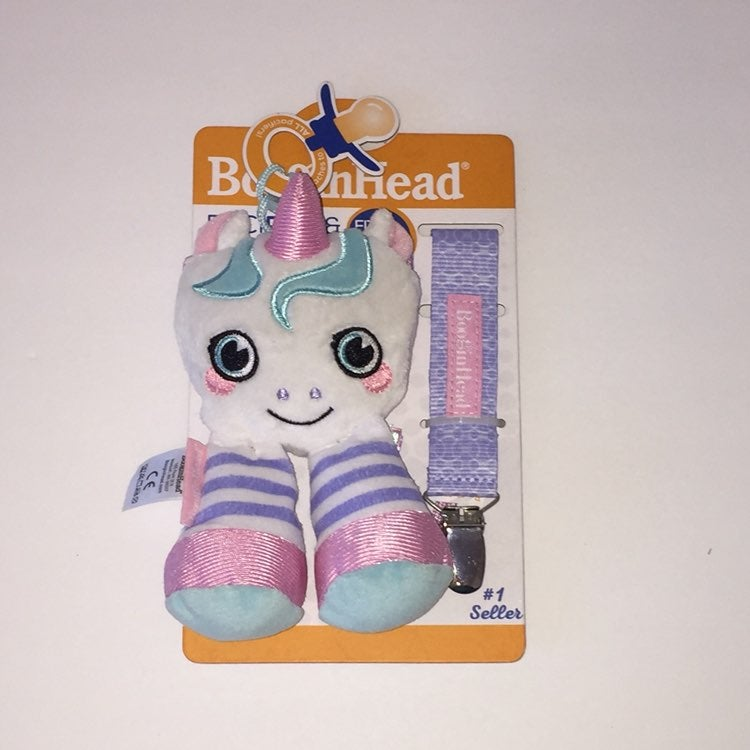 Booginhead Unicorn Pacifier Holder