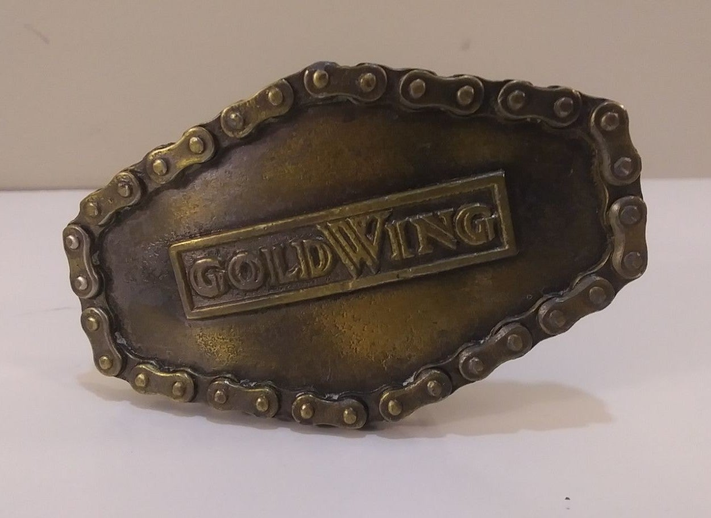 1976 Vintage Honda Goldwing Belt Buckle