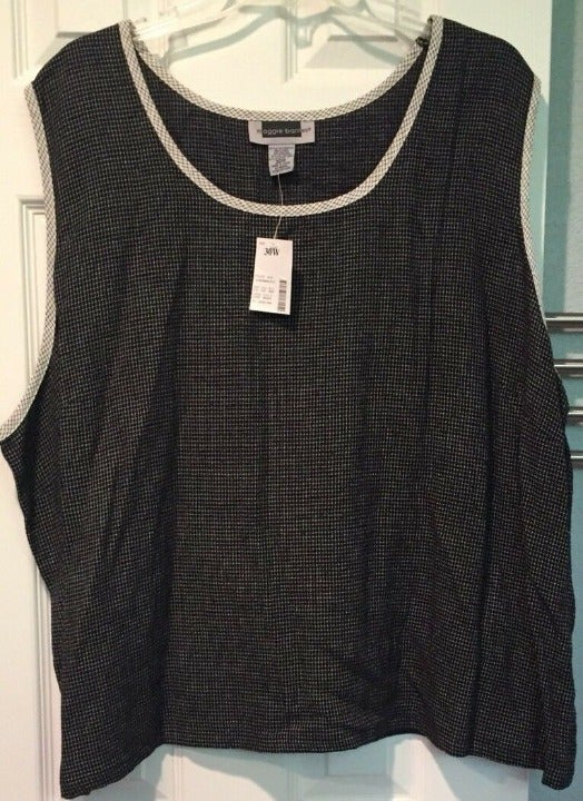 Maggie Barnes Sleeveless Tank Top