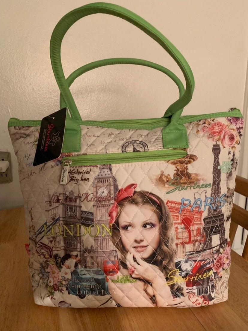 Starriness London And Paris Tote Bag