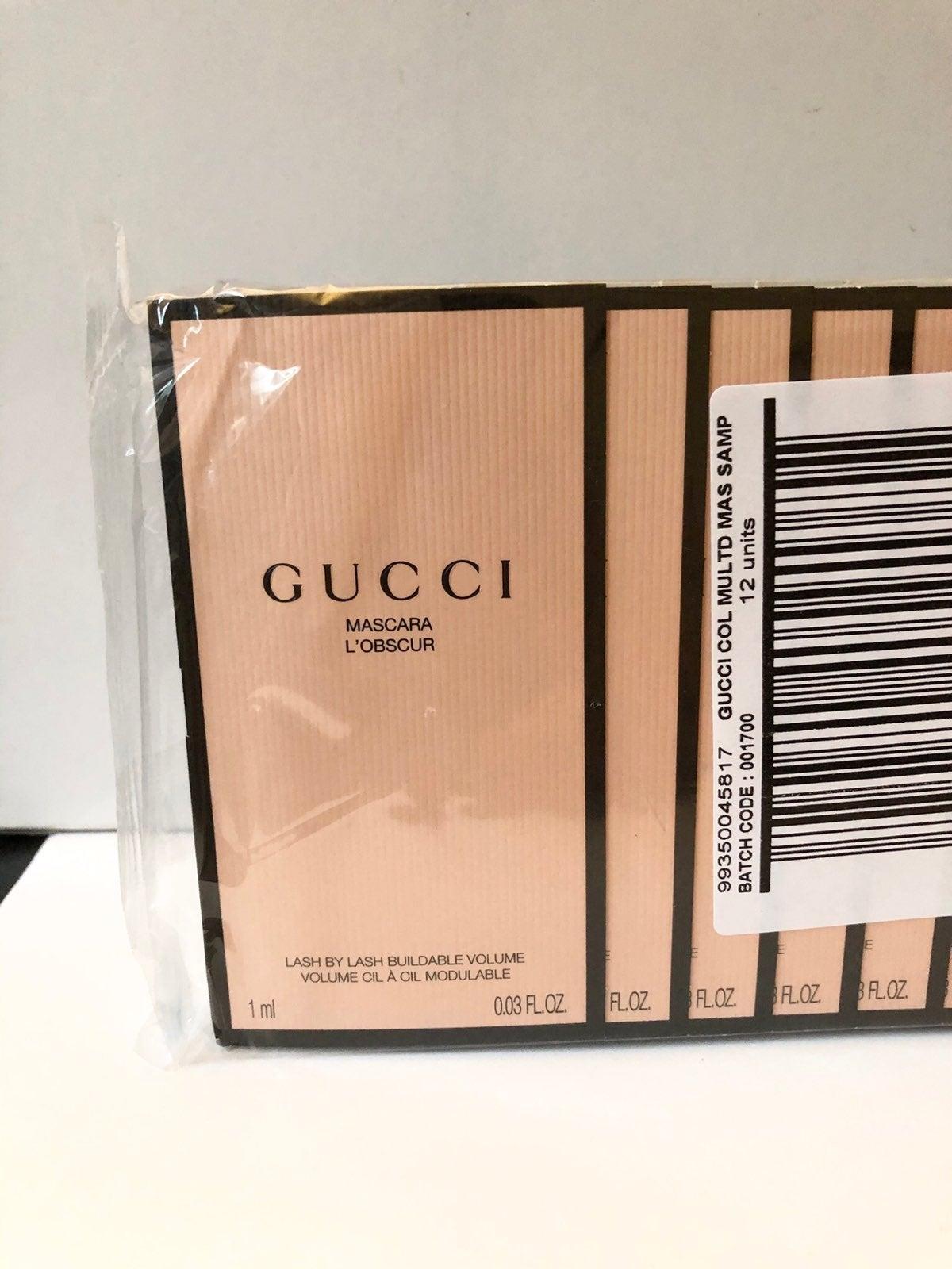 12X  Gucci Mascara L'Obscur