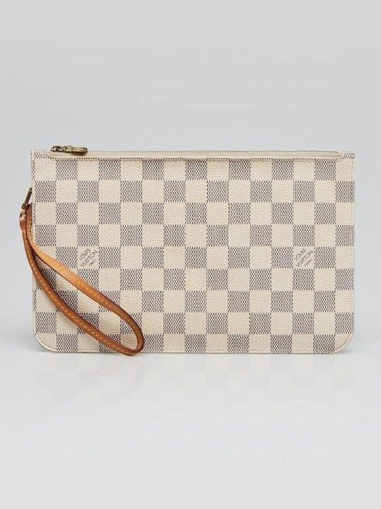 Louis Vuitton Damier Azur Neverfull Poch