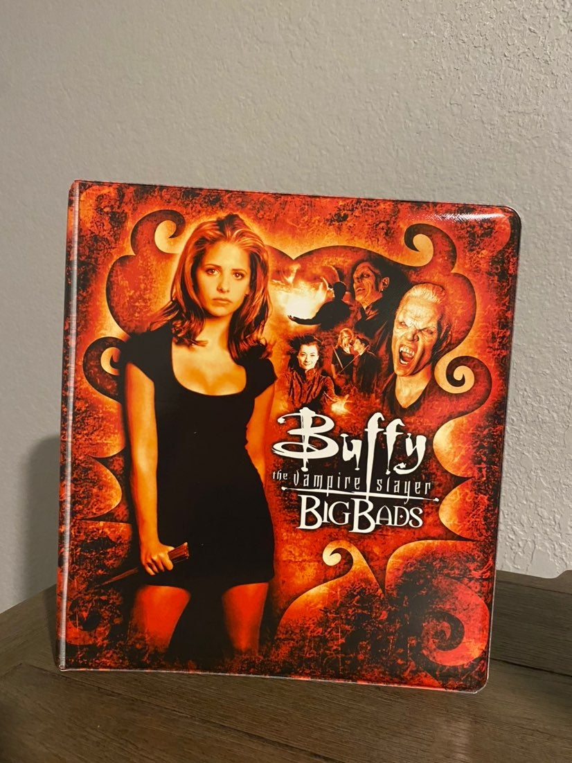 Buffy the Vampire Slayer binder
