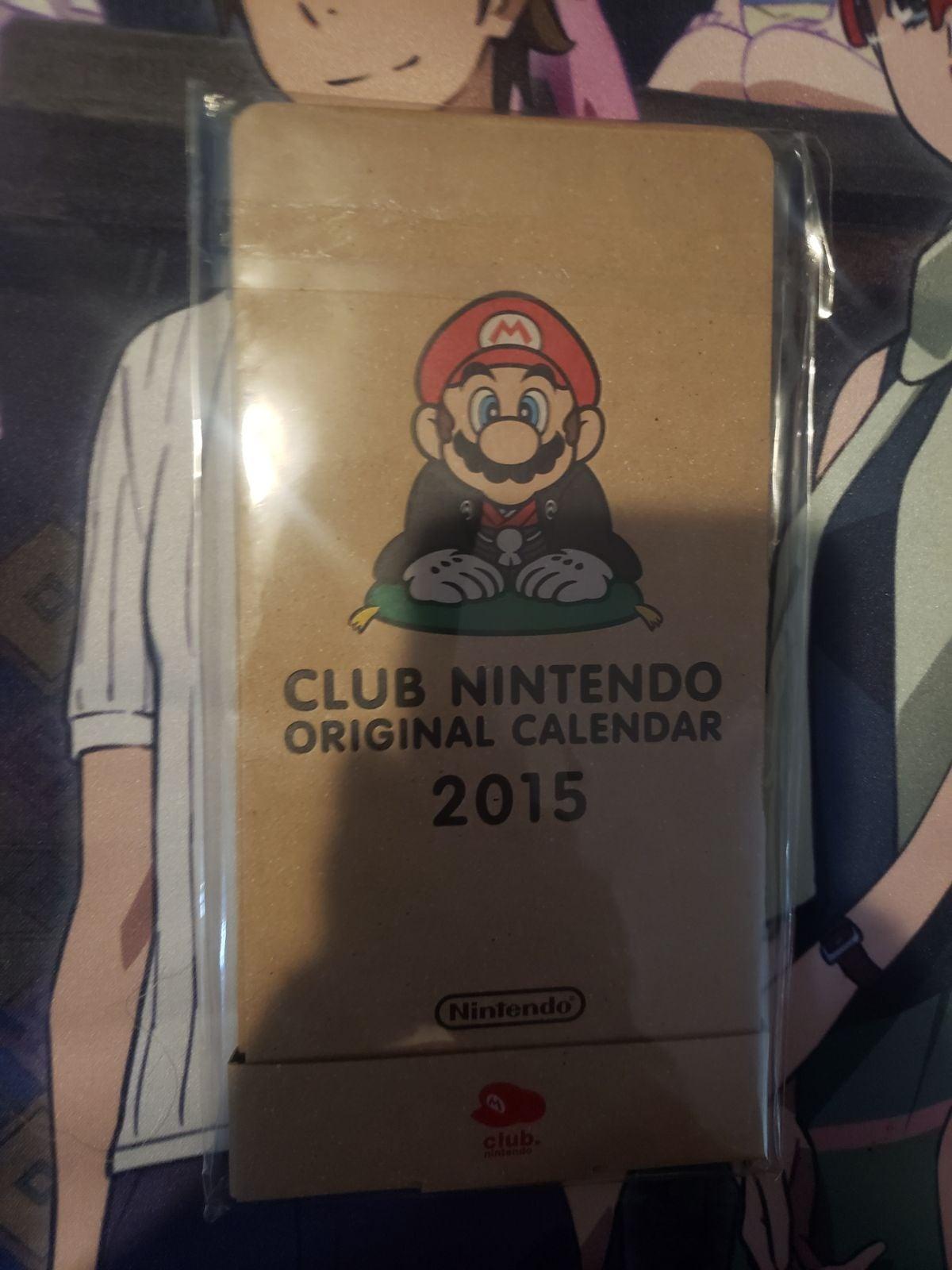 Club Nintendo Calendar 2015 Japan