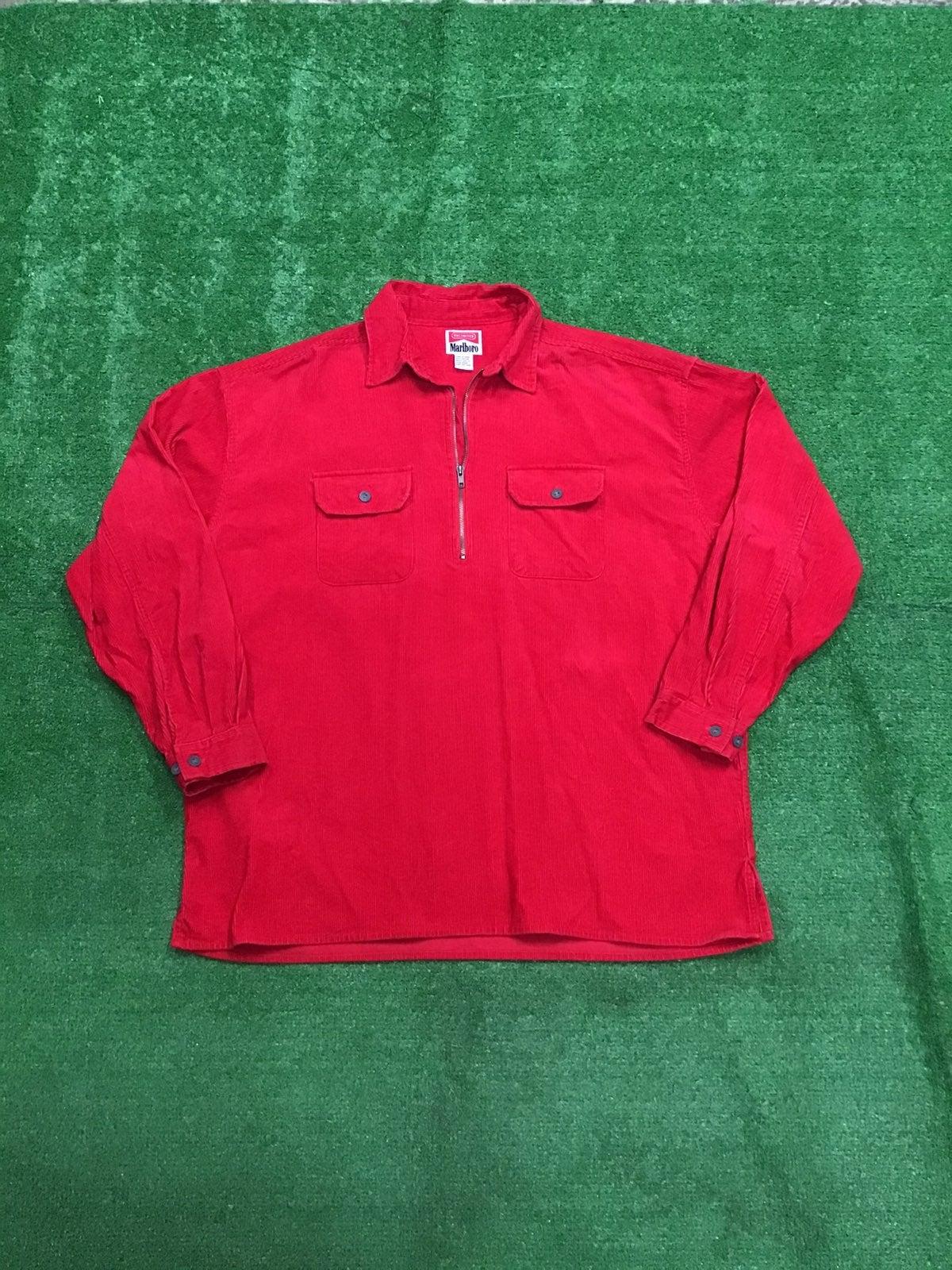 Vintage Marlboro Corduroy Shirt