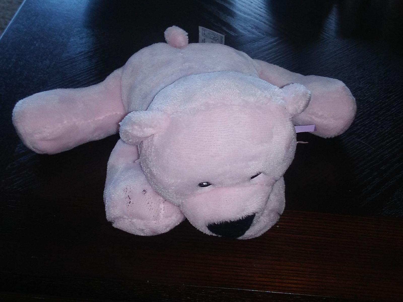 Fiesta Pink Comfie Teddy Bear Stuffed To