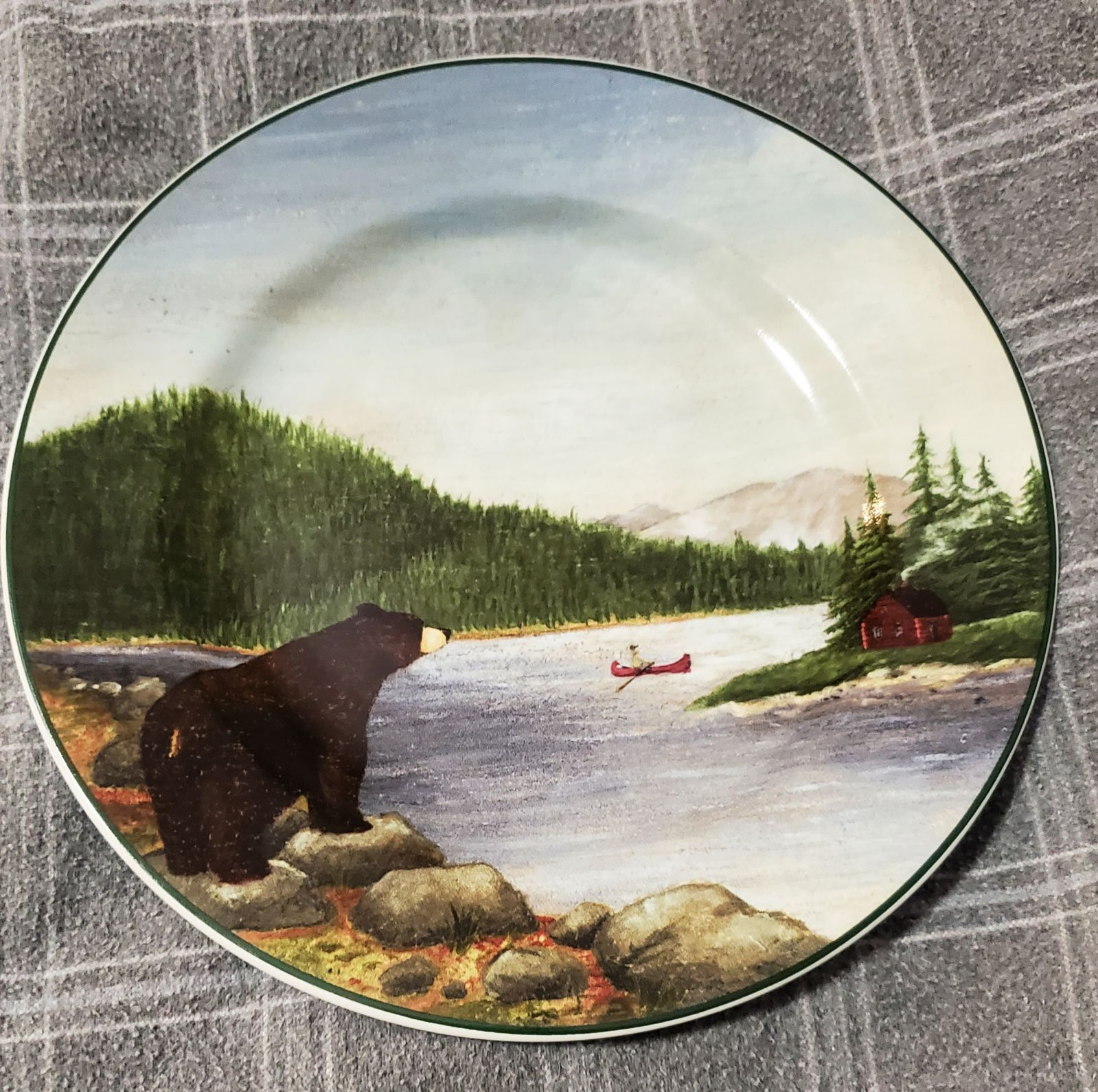 Northwoods Collectors Plate