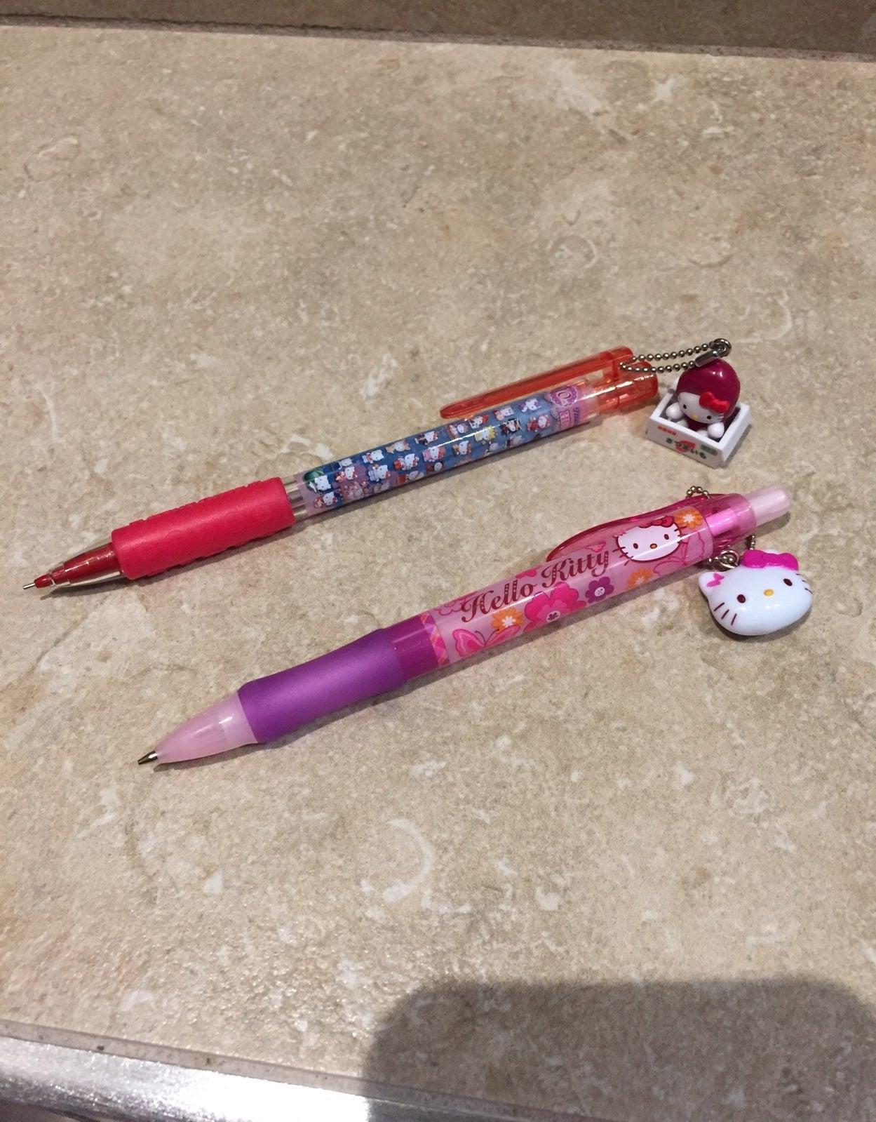 Bundle of 2 Hello Kitty Mechanical Penci