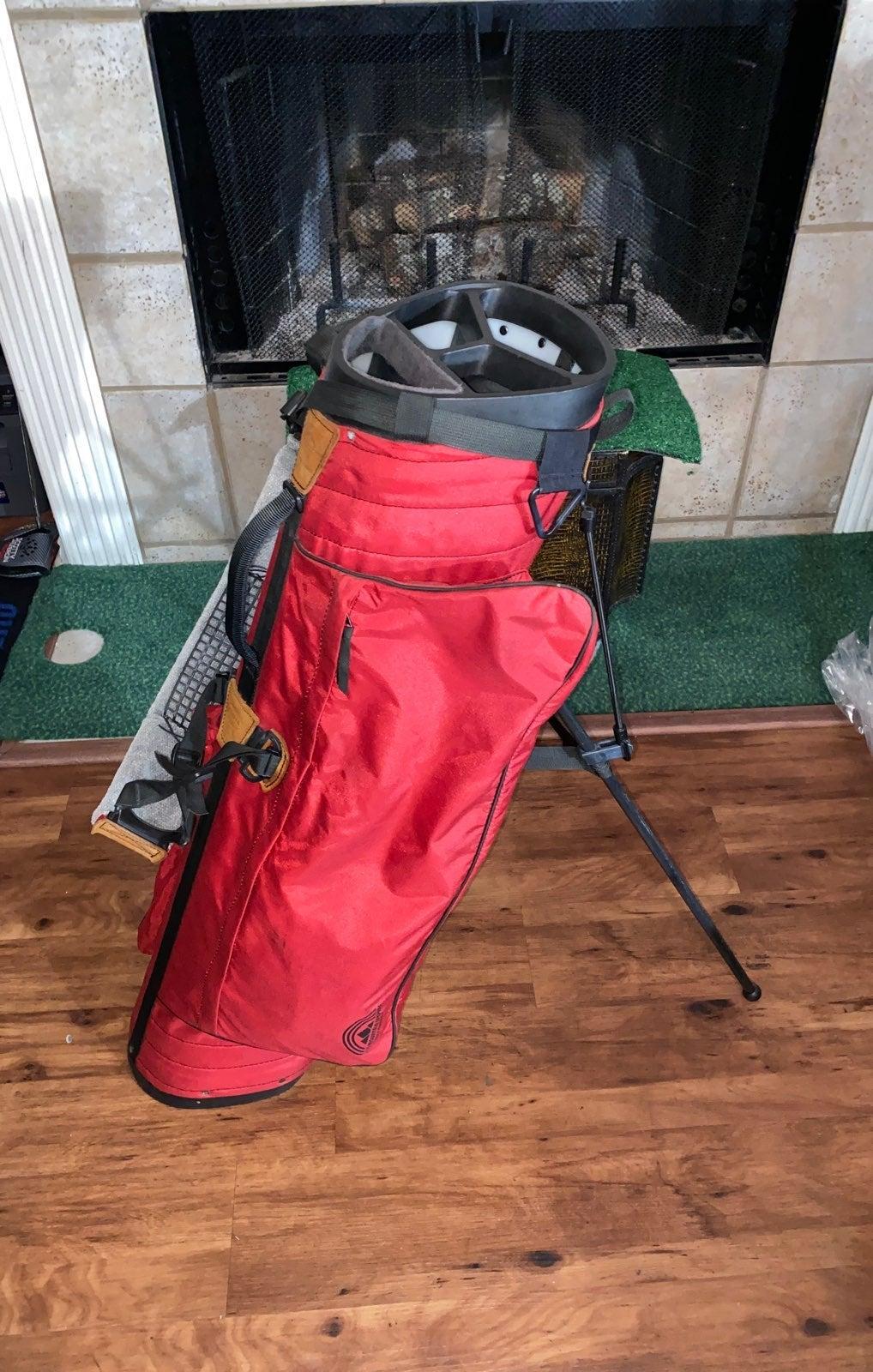 sun mountain eclipse golf bag & cover ni