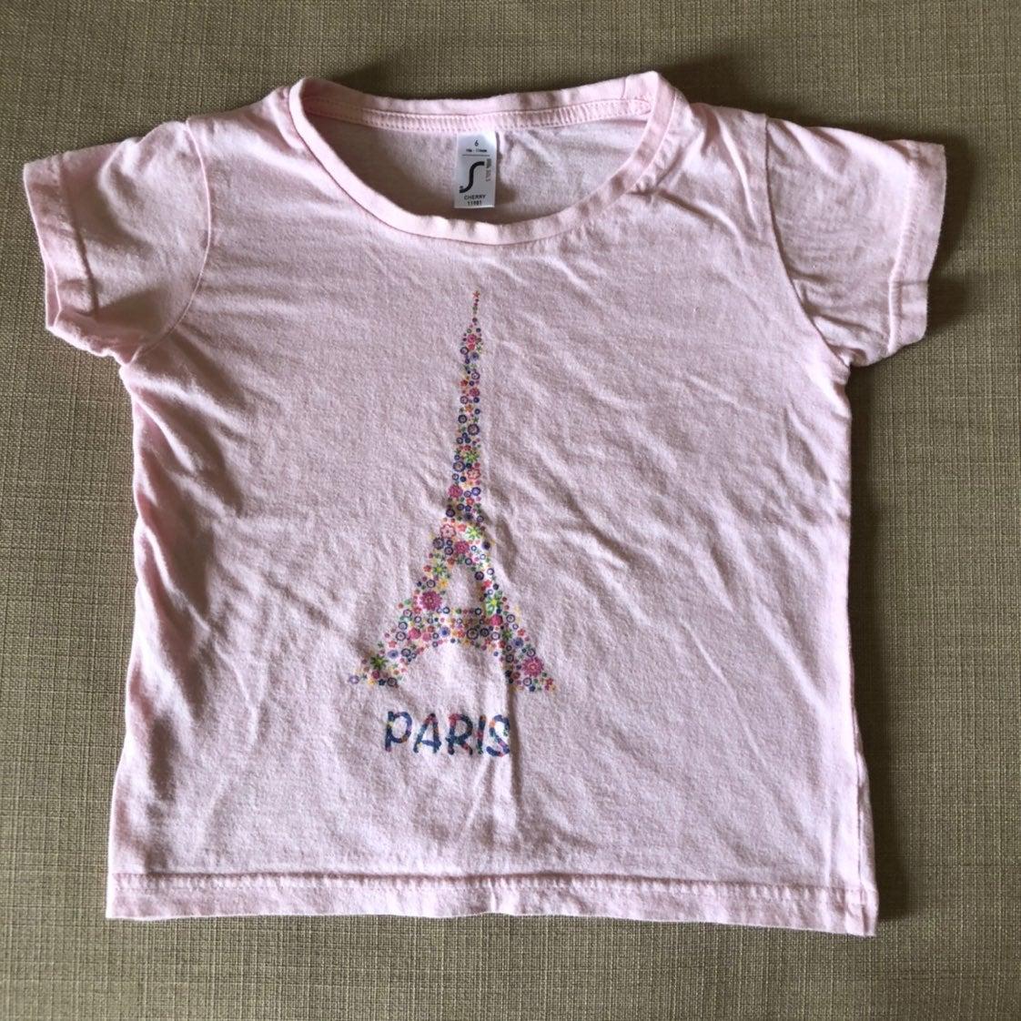 Paris tshirt size 6