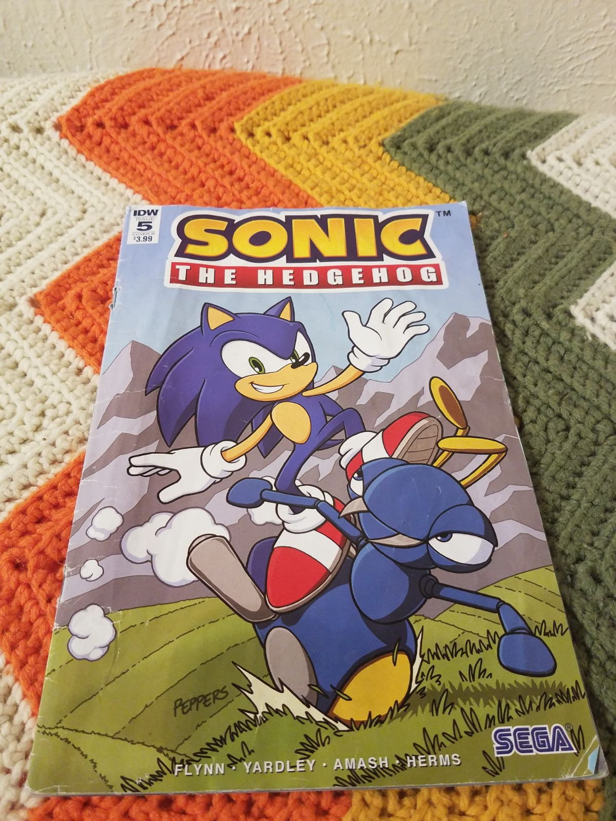 Sonic comic book
