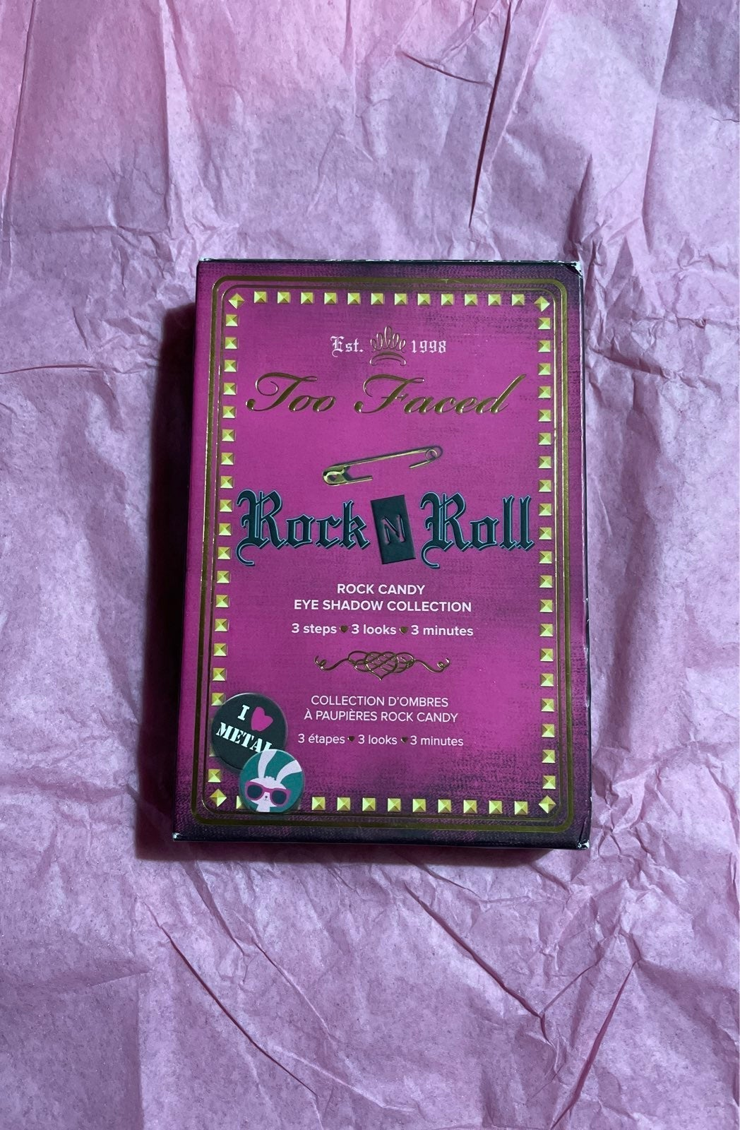 Too Faced Rock N Roll pallette NIB