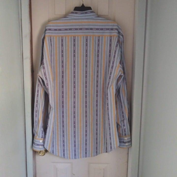 Robert Graham Flip Cuff Long Sleeve XL