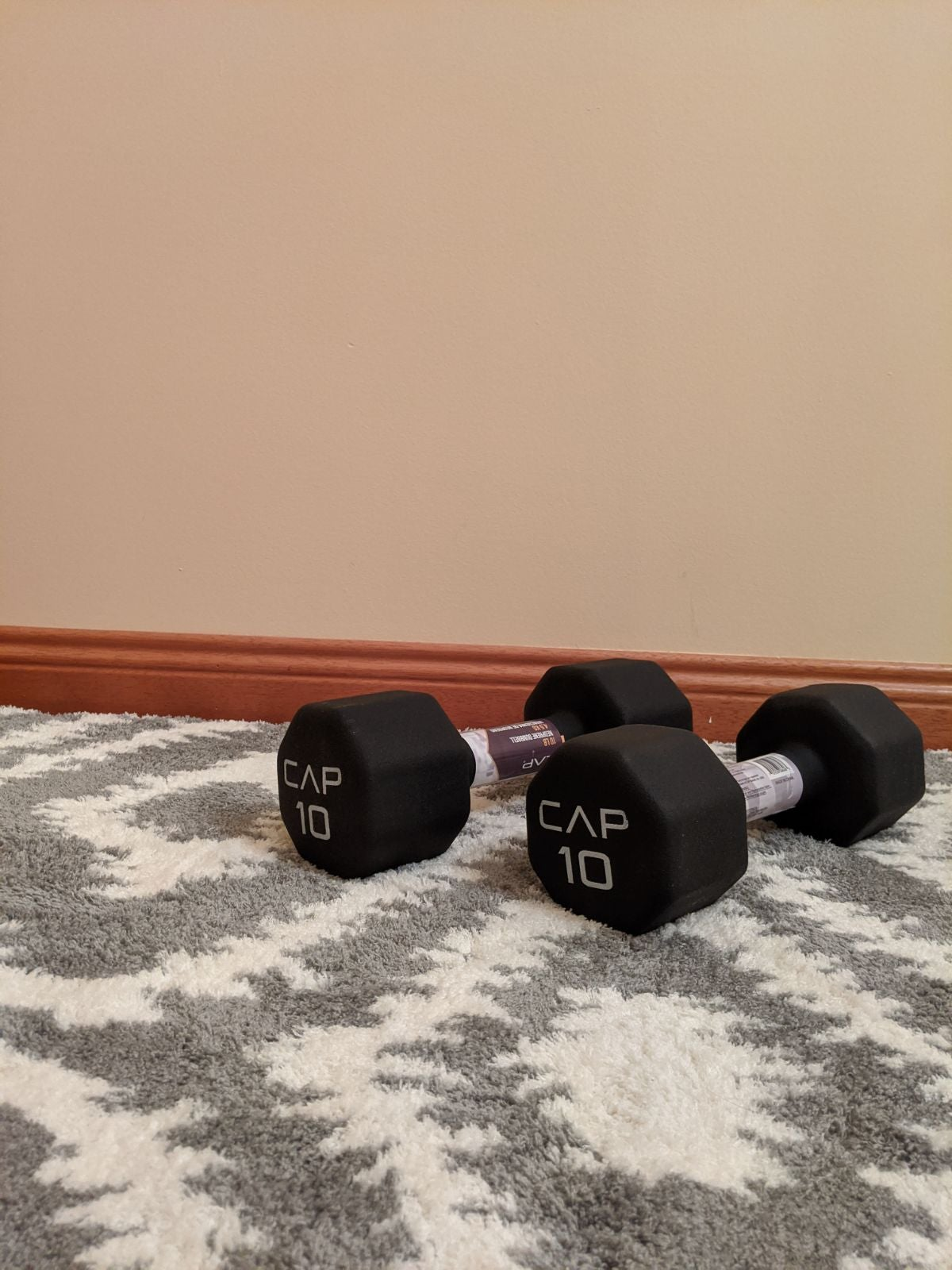 CAP 10 lb Dumbbells