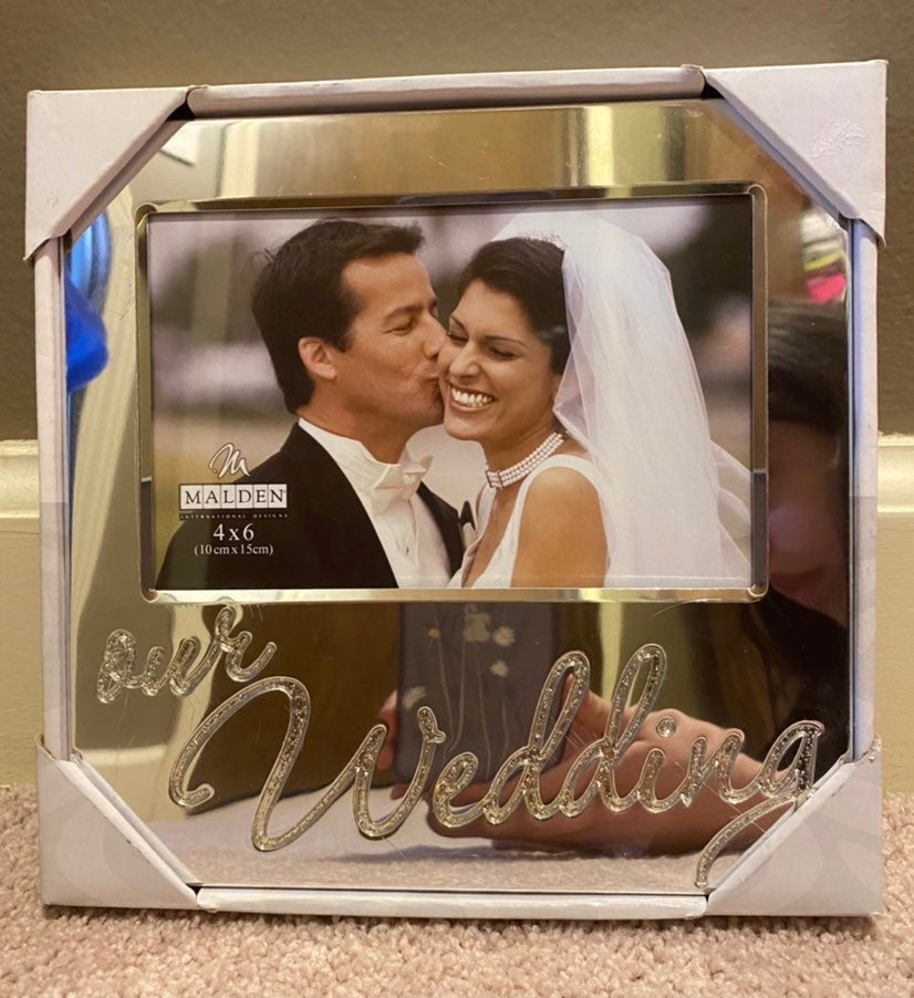 """""""Our Wedding"""" Picture Frame"""