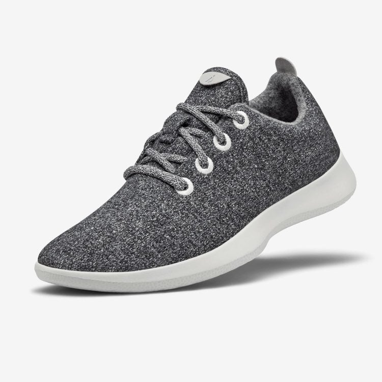 Women Allbirds wool grey runners