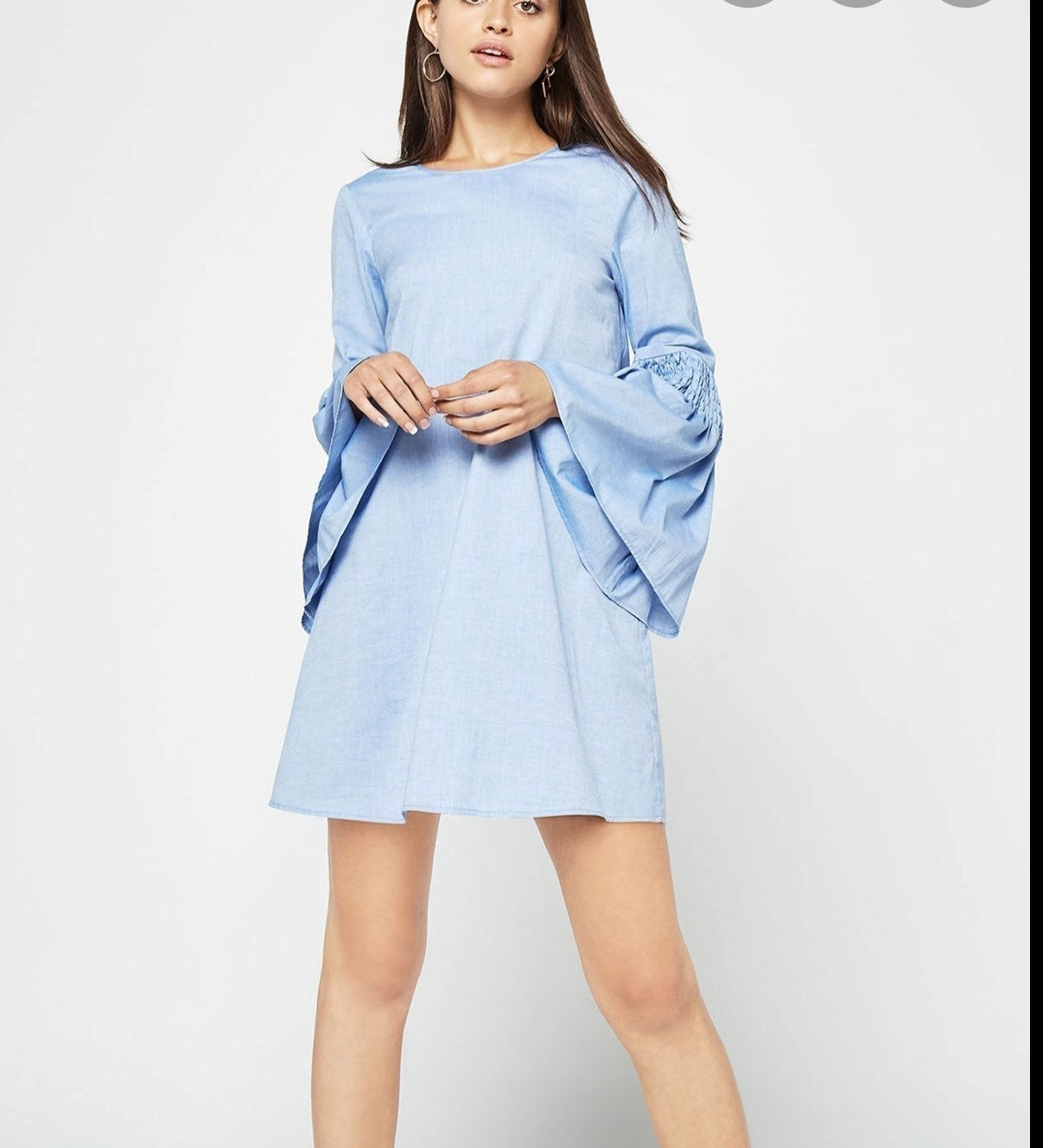 NWT-BCBGeneration BELL SLEEVE A-LINE DRE