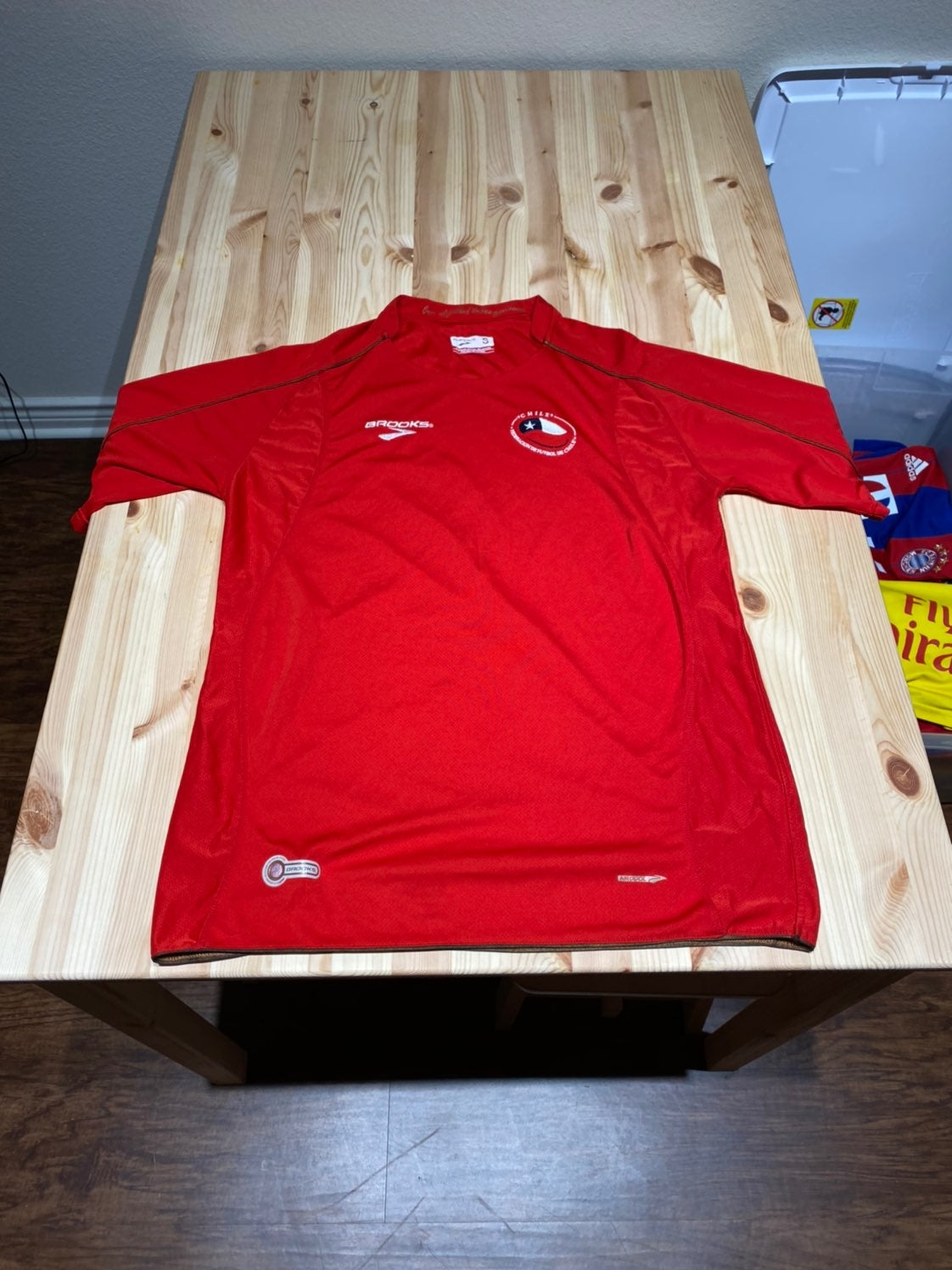 Chile Brooks Home Soccer Jersey