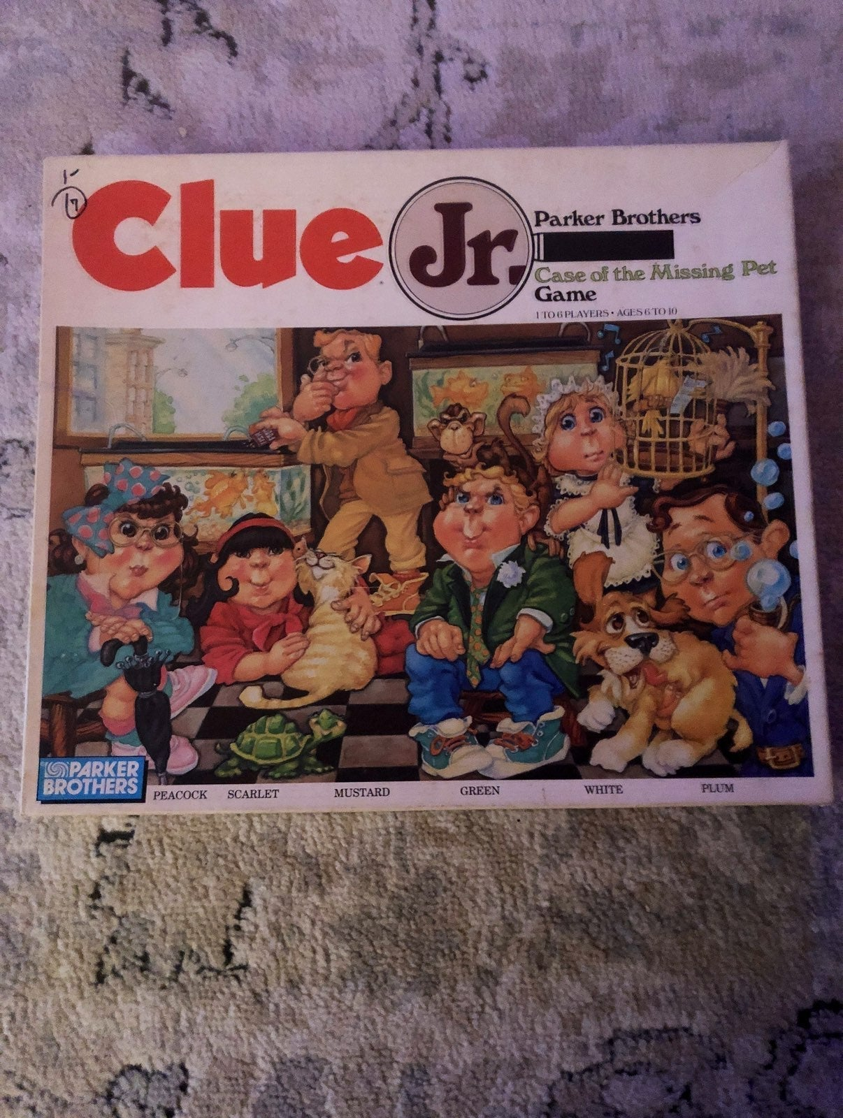 Clue jr. Case of the missing pet 1989