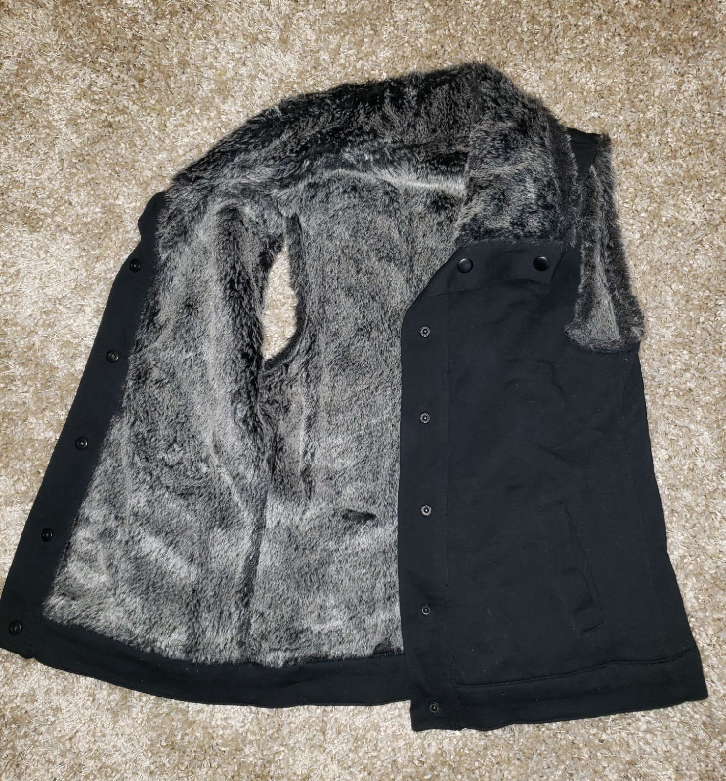 Fox Racing Faux Fur Vest