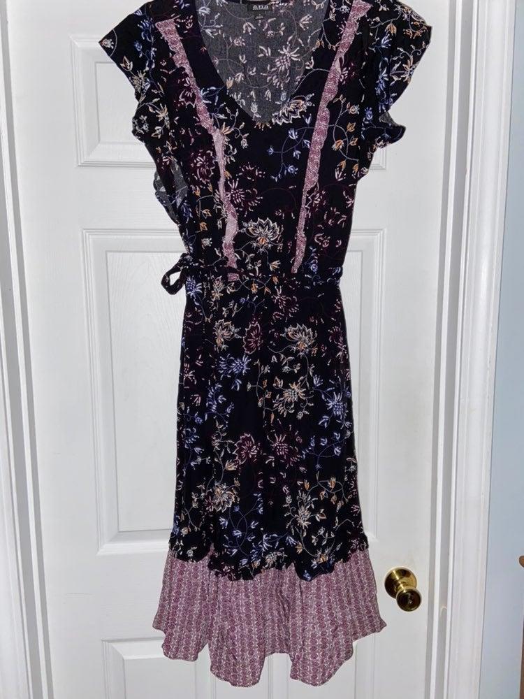 a.n.a. midi-dress
