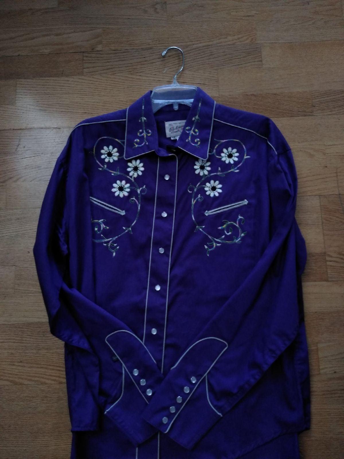 Vintage Rockmount embroidered shirt