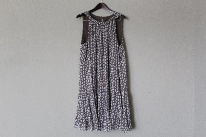 JBS Drop Waist Sleeveless Dress