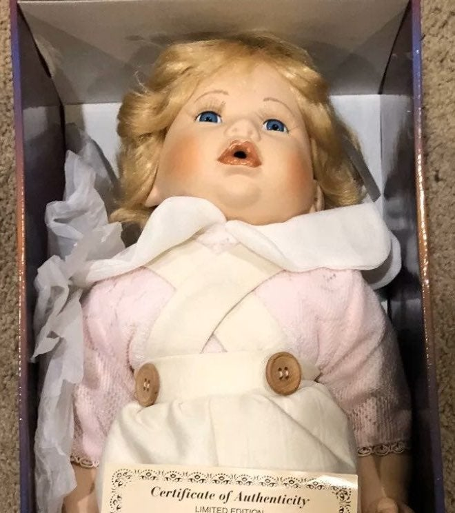 Ashley belle porcelain doll