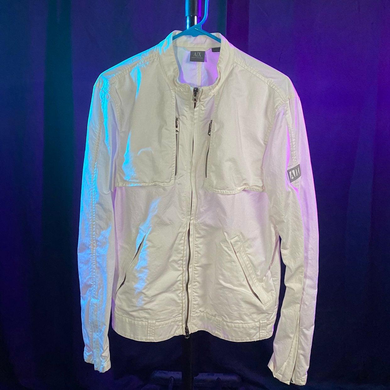 Armani Exchange Light Moto Jacket
