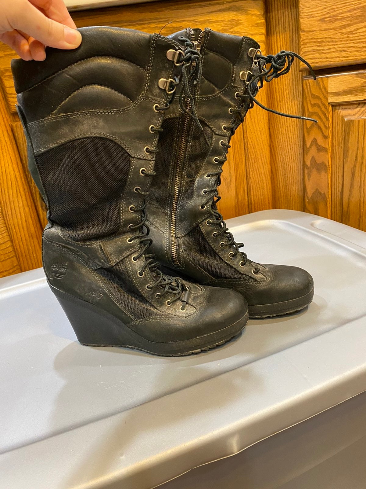 Womens Timberland Boots size 8