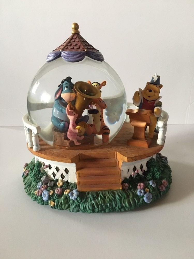Disney Winnie Pooh Musical Snow Globe