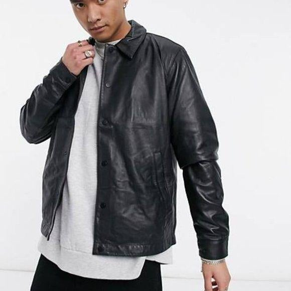 Vintage COACH Men's 1941 Leather Jacket