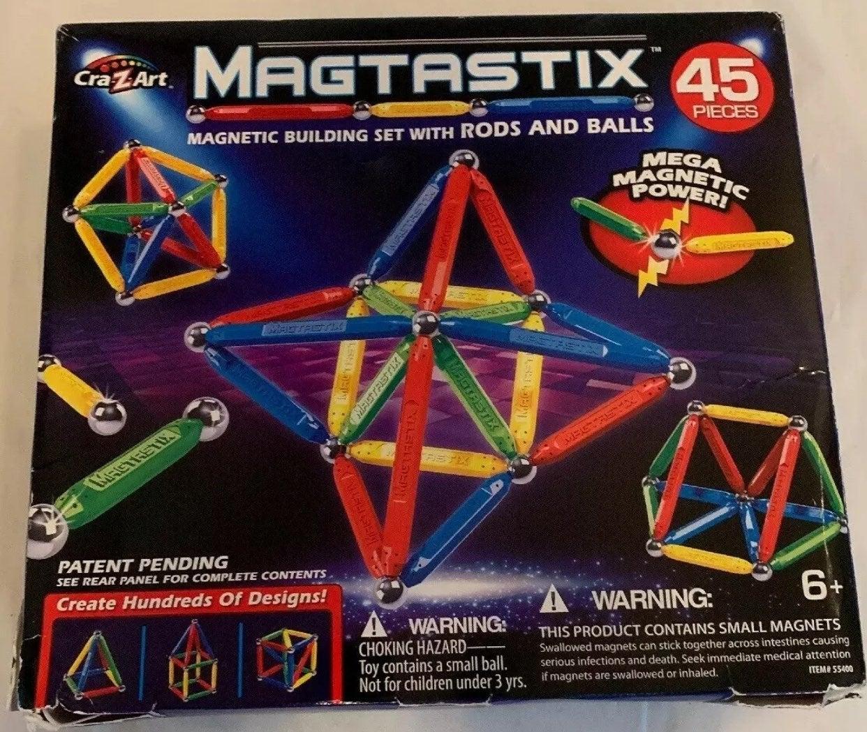 Cra-Z-Art Megastix Magnetic Building Set