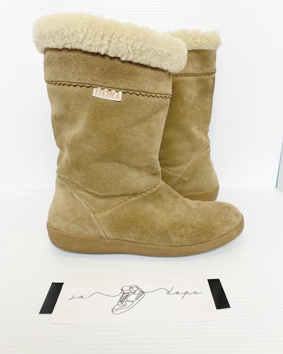 Tecnica Womens Suede Wool line Boots