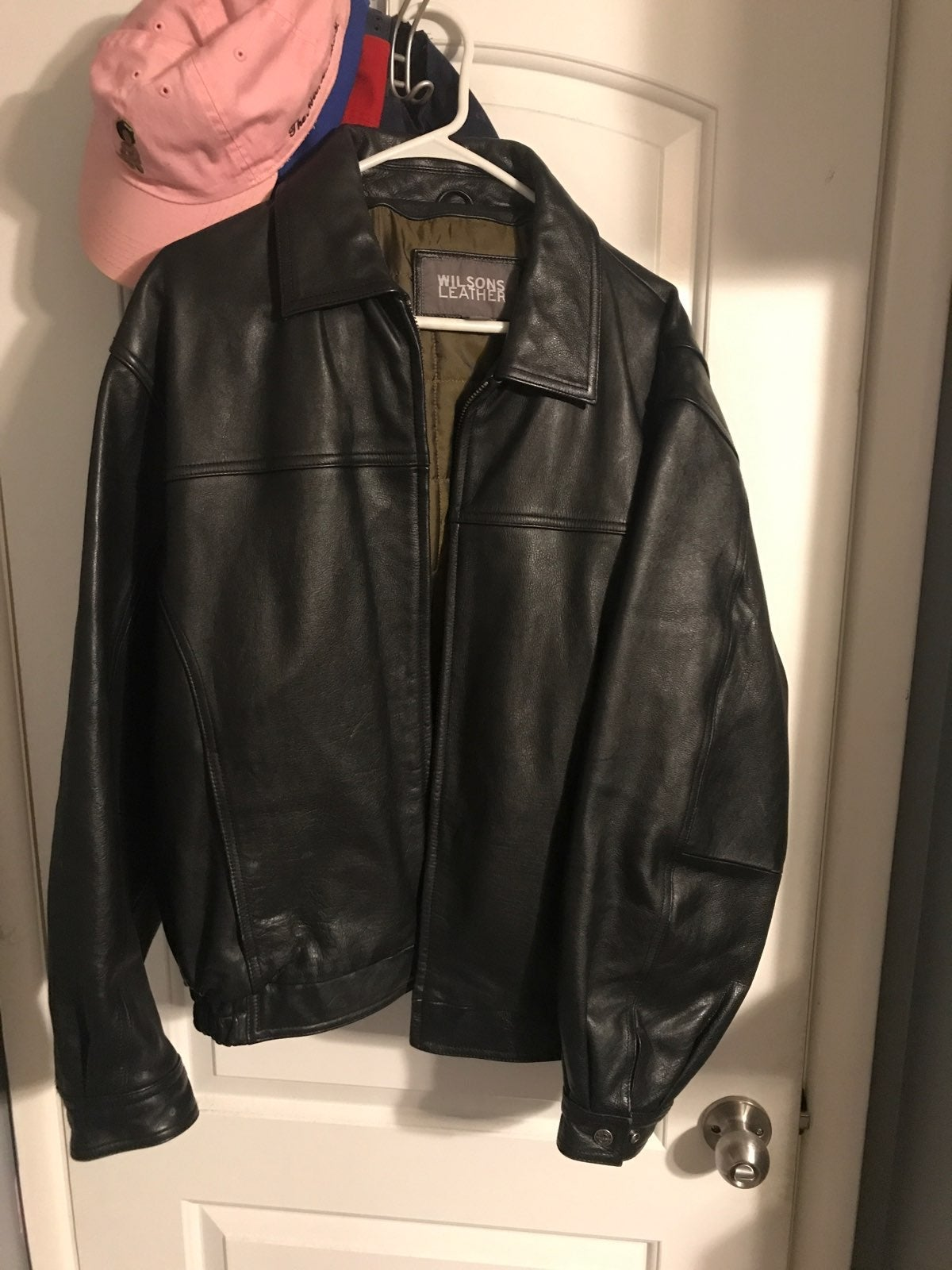 Wilson's Leather Mens Large Jacket