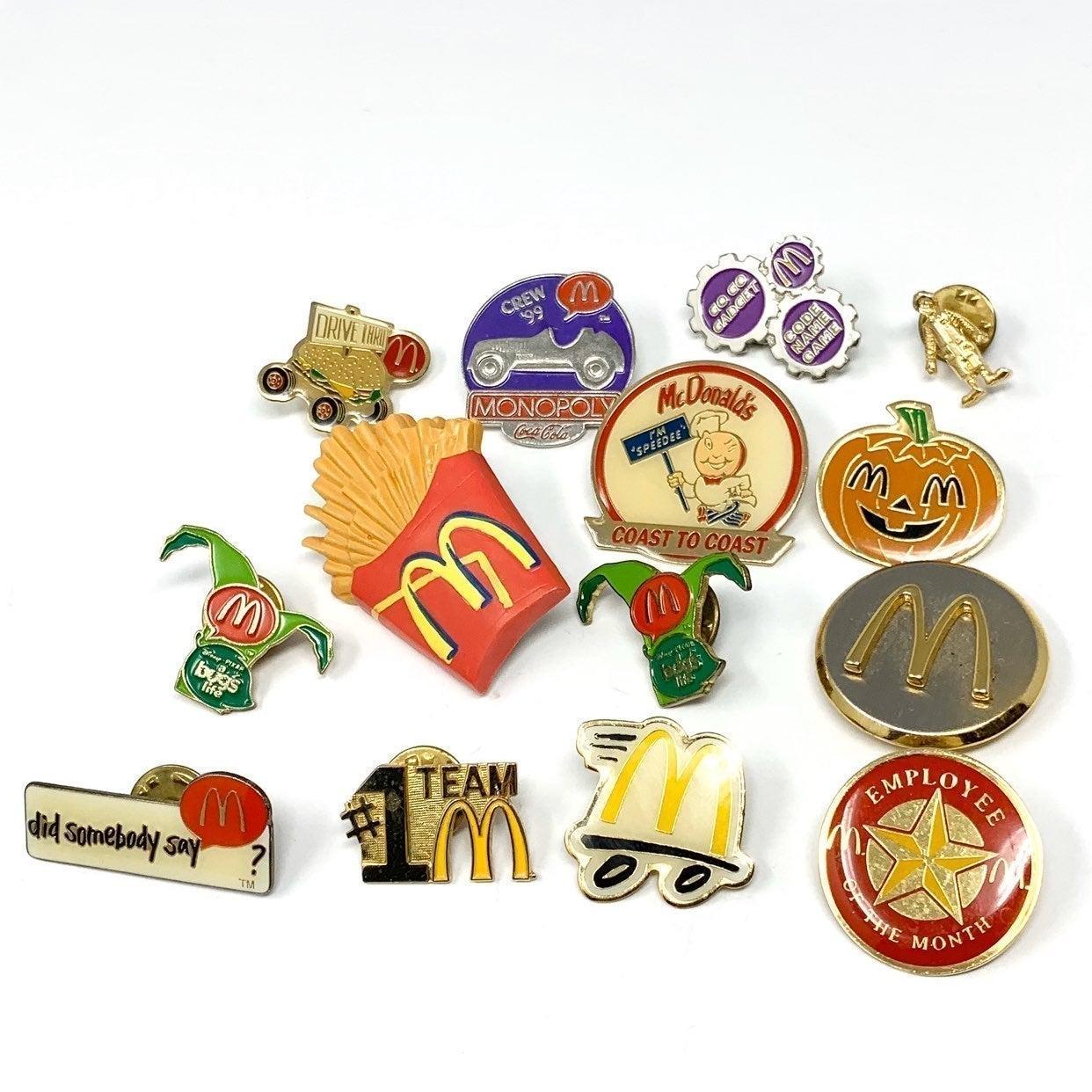 Vtg McDonald's Pin Lot (14)