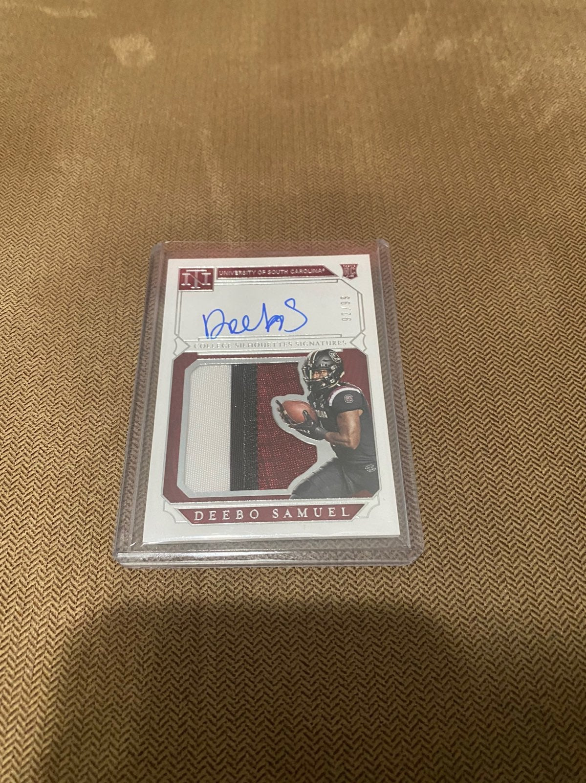 deebo samuel auto and jersey #92/99